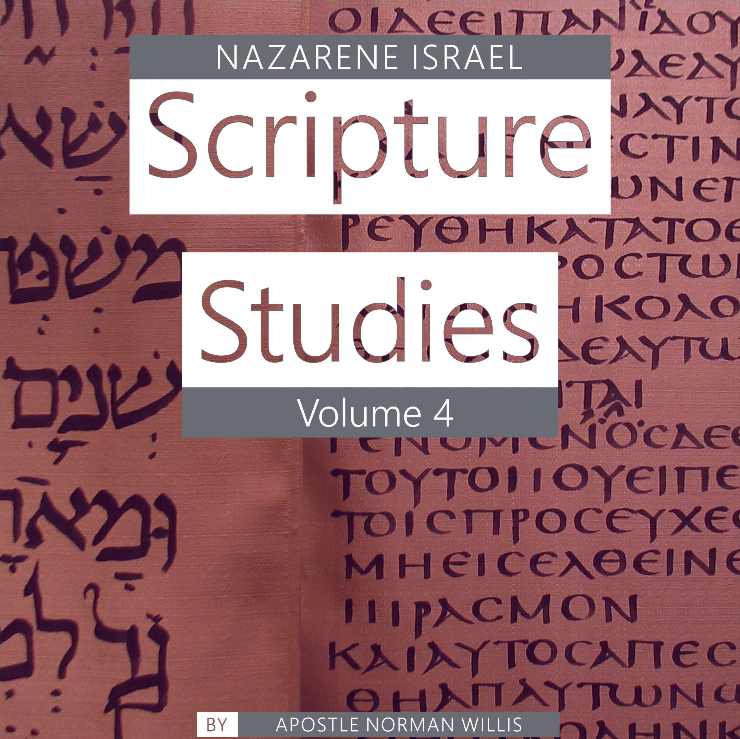 Nazarene Scripture Studies Vol. 4