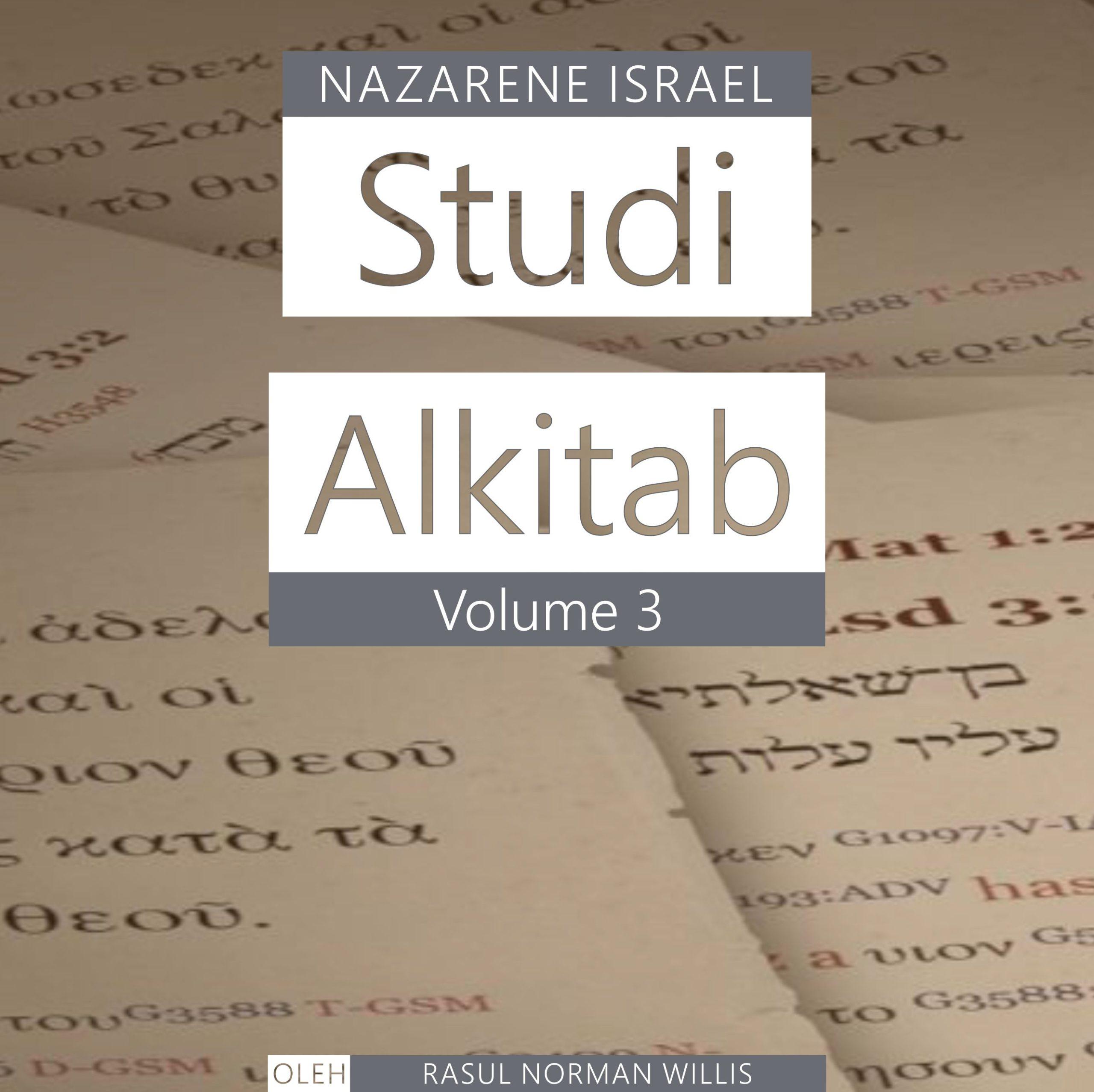 Studi Alkitab Nazaret Vol. 3