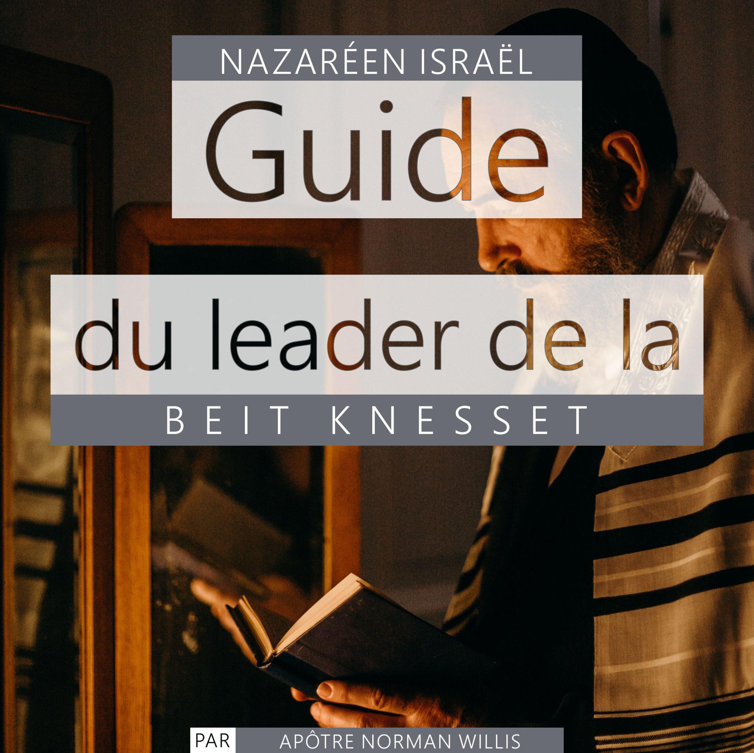 Guide du leader de la Knesset Beit