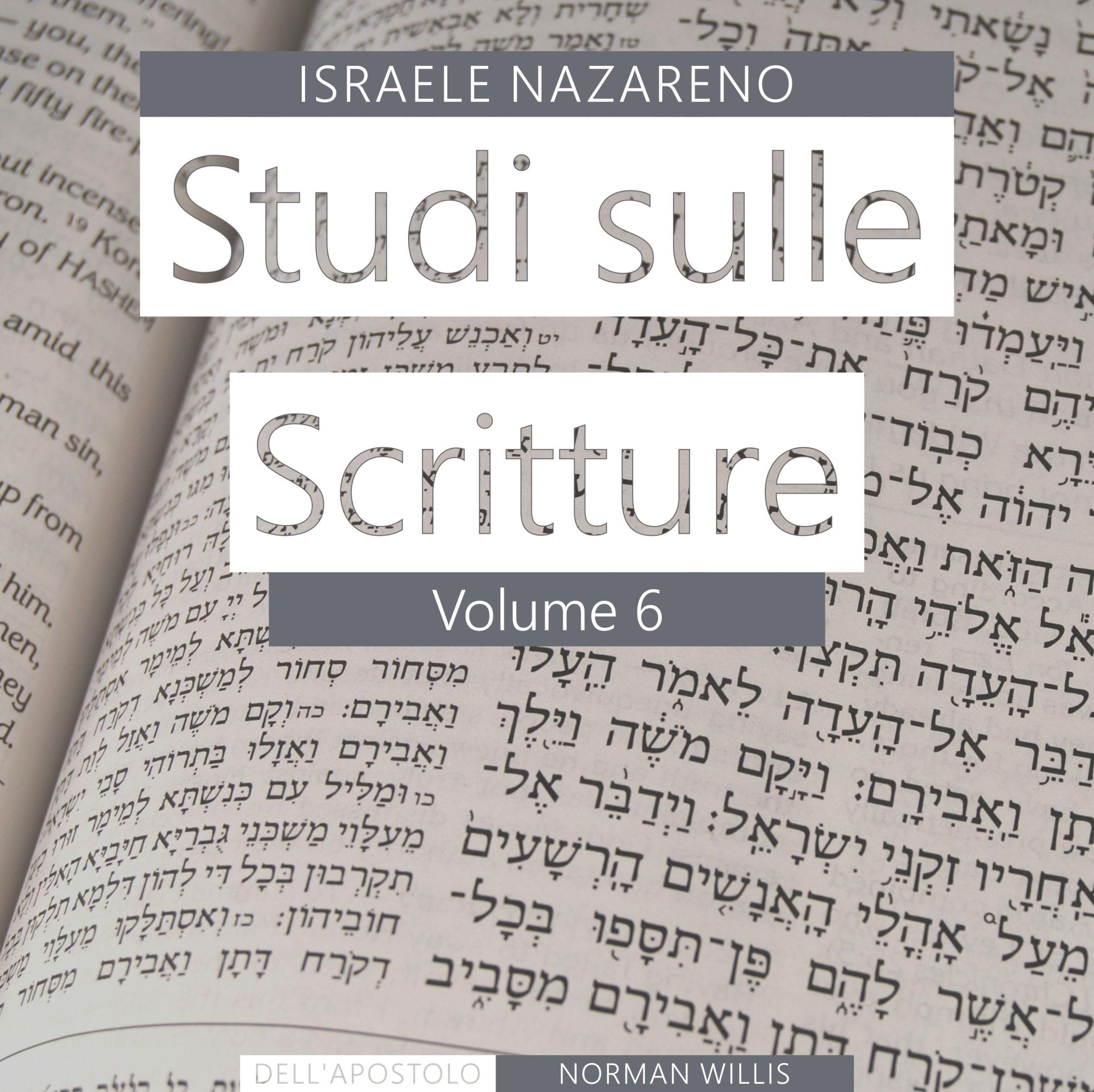 Nazarene Scripture Studies Vol. 6