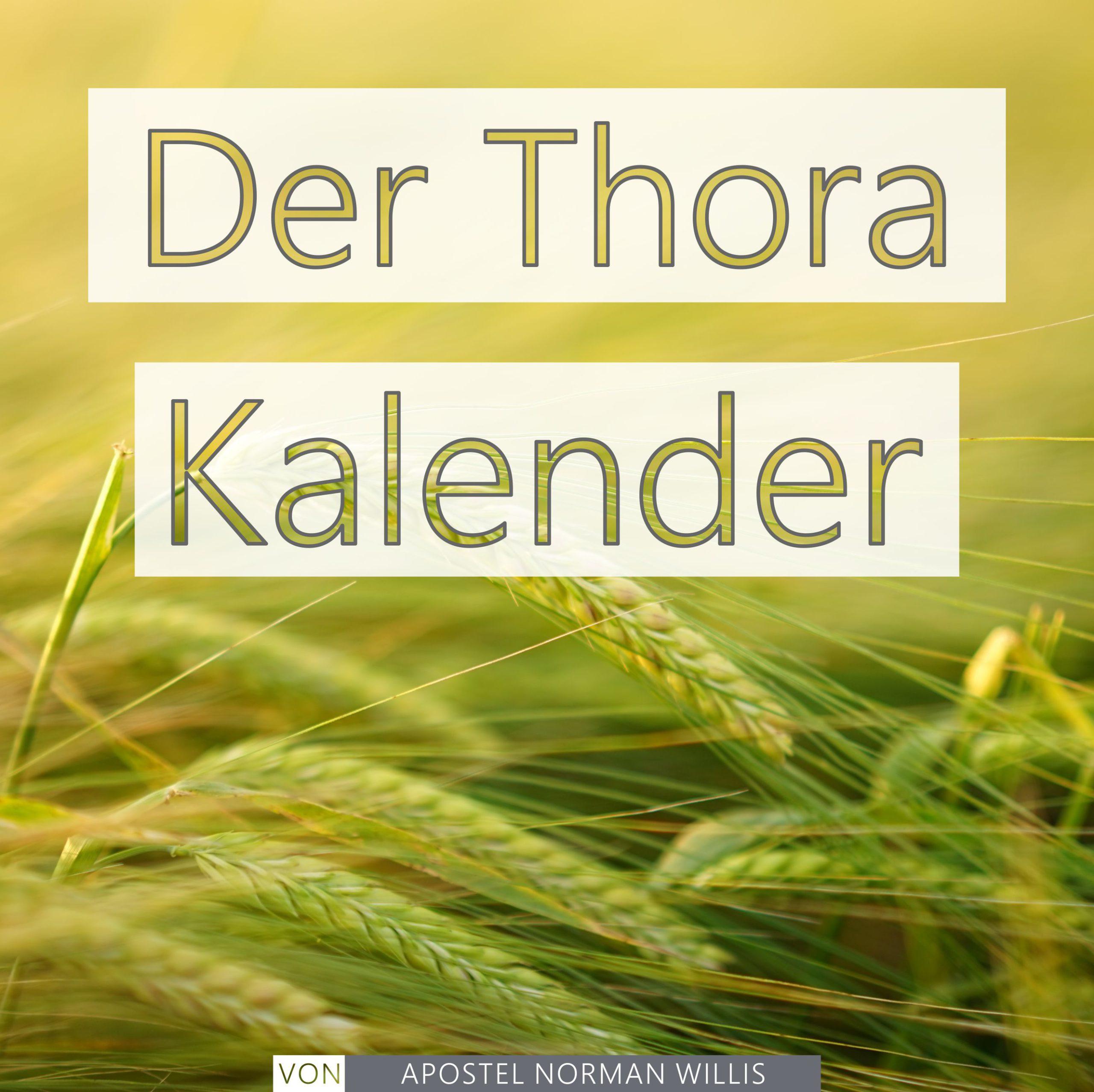 Der Thora Kalender