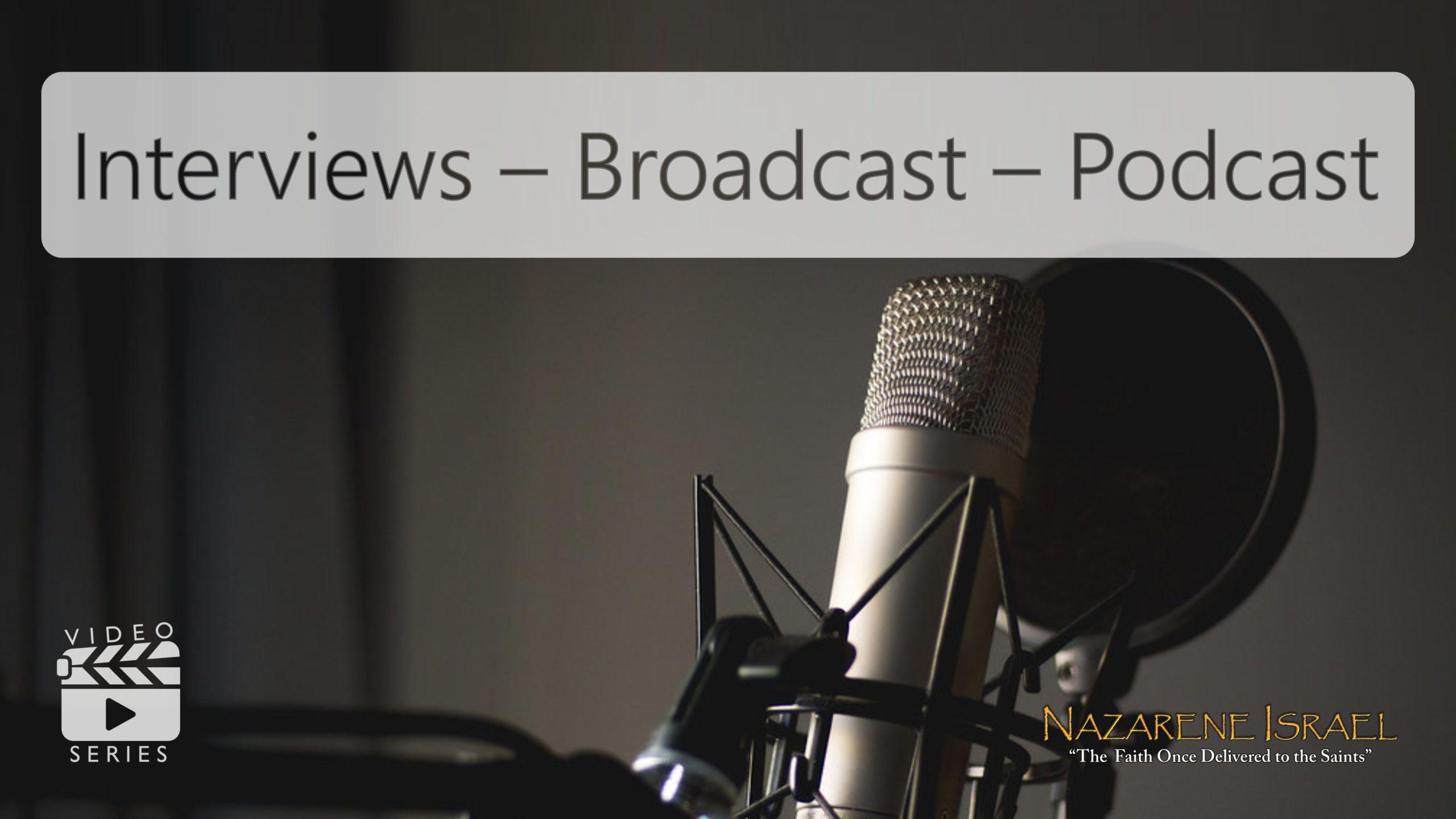 Entrevistas - Transmisión - Podcast