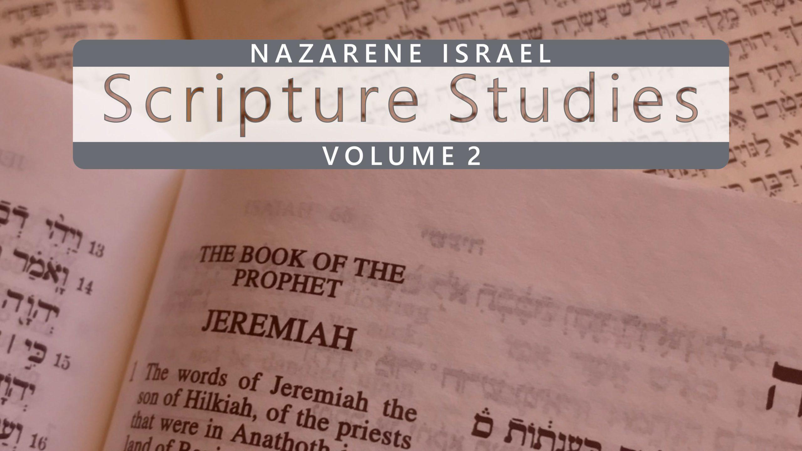 Nazarene Scripture Studies Vol. 2