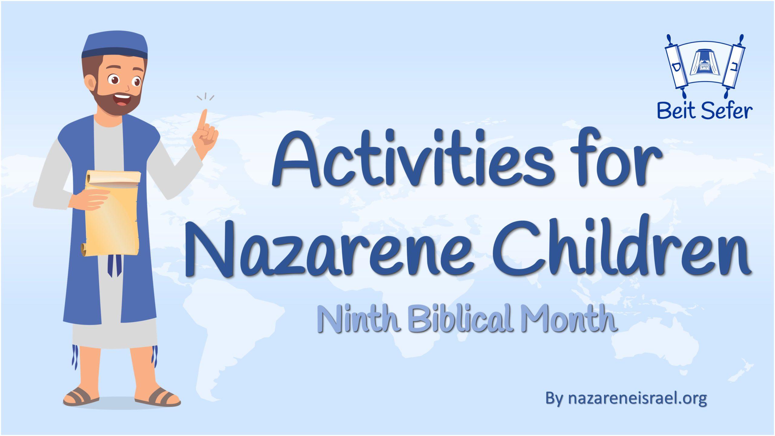 Activities for  Nazarene Children – Chukat