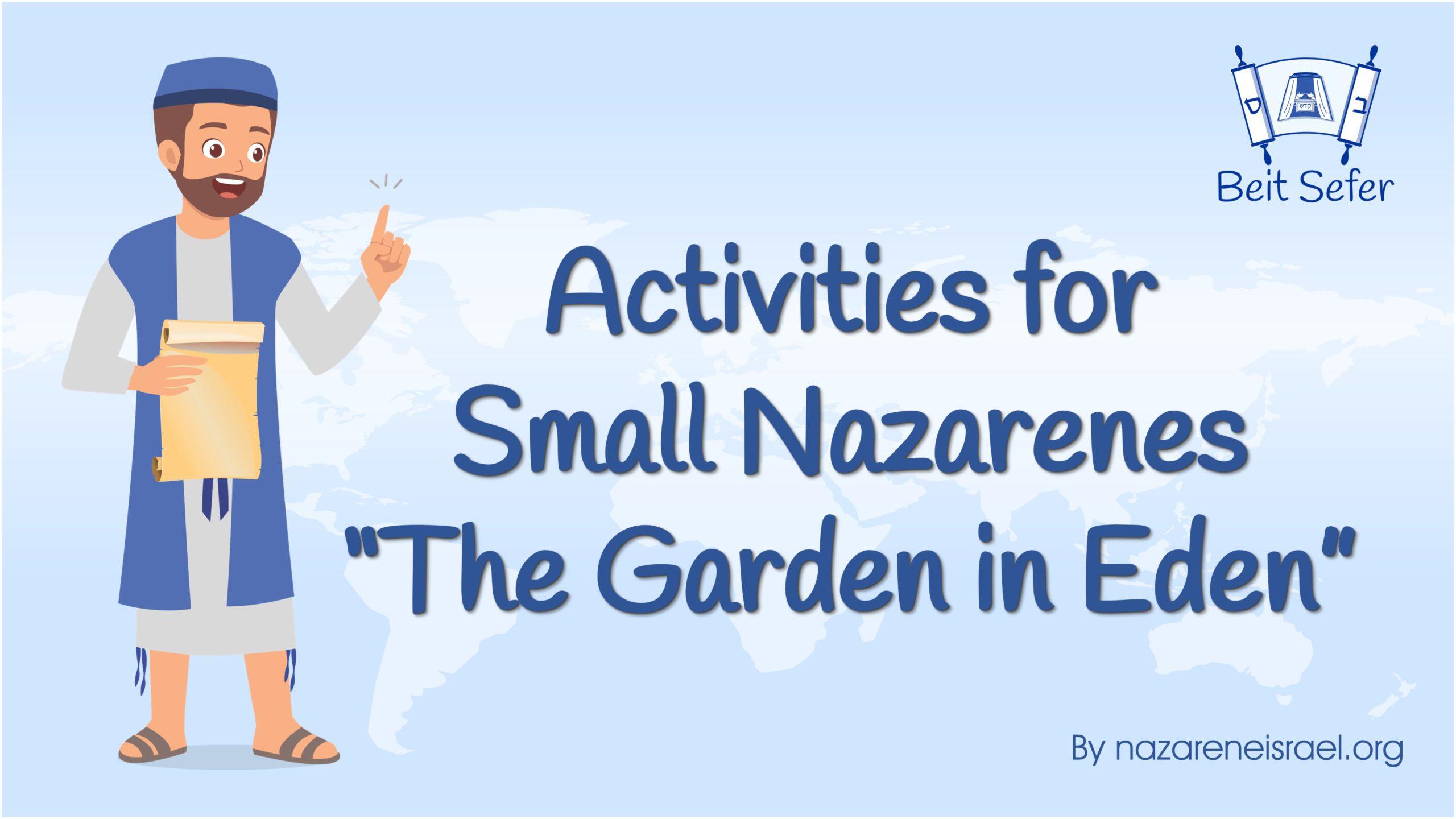 Activity The Garden in Eden