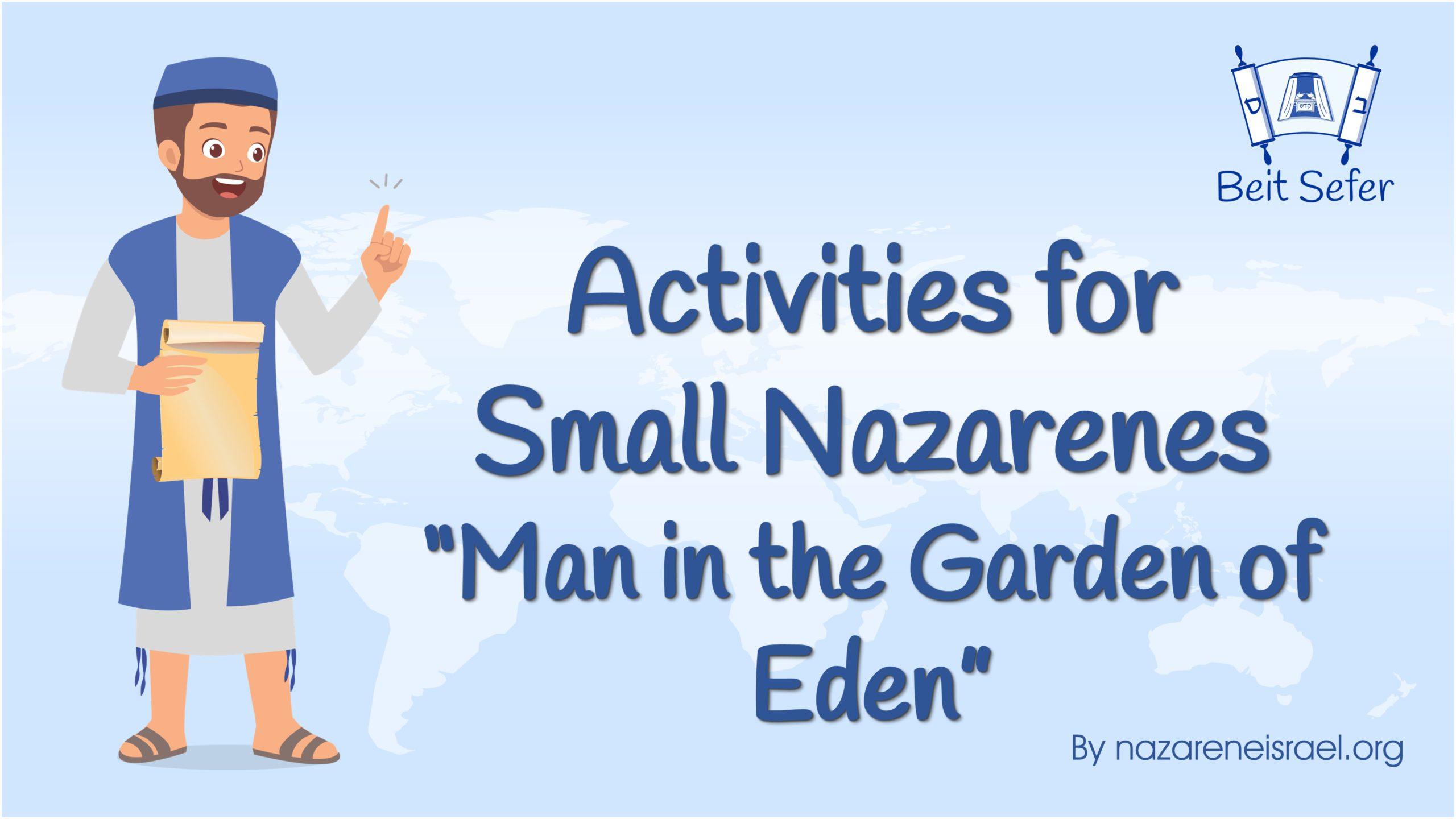 Man in the Garden of Eden